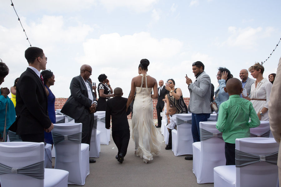 Rooftop Vow Renewal Houston