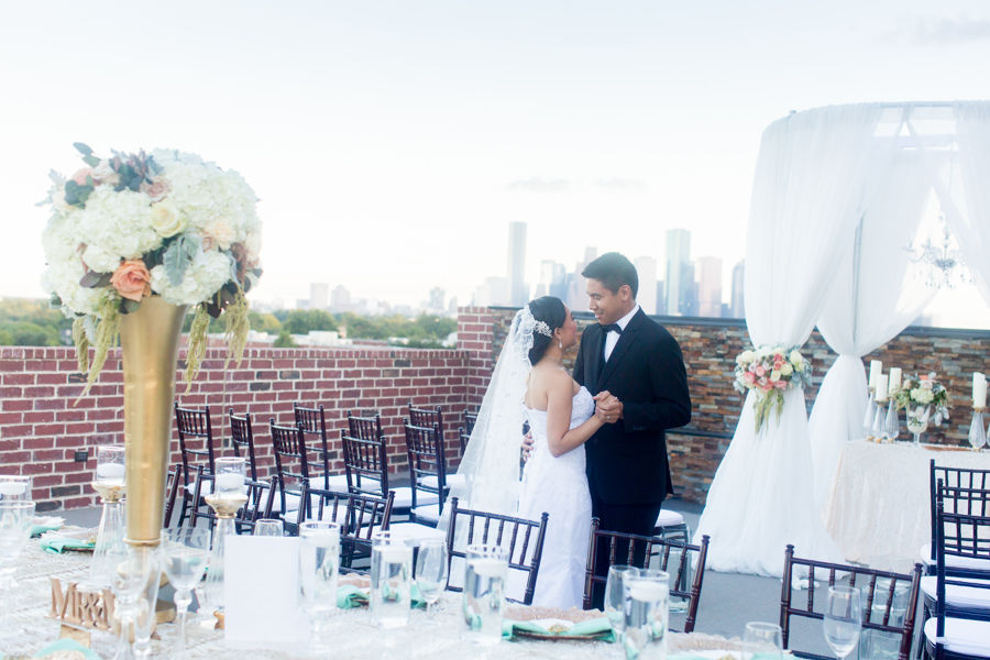 Weddings in Houston Venue Rooftop